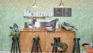 Vogels op café