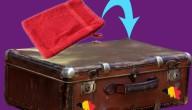 washandje in valies