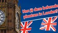 bekende plaatsen in Londen