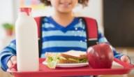 Vegetarisch eten op school