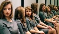 Meisjes in de spiegel