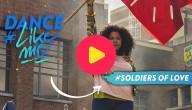 Leer samen met Sali het dansje op 'Soldiers of love'!