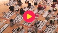 kalligrafiewedstrijd Tokio