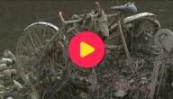 Kanaal oude fiets Parijs