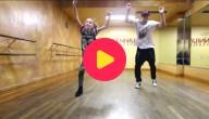 11-jarige danst