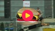 Hamburger vliegtuigje