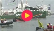 Greenpeace voert actie