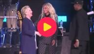 Clinton-Beyonce