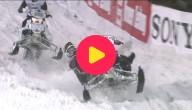 Sneeuwscooterrace in Oostenrijk