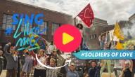 Zing samen met de vrienden van #LikeMe het stoere nummer 'Soldiers of love'!