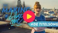 The making of #LikeMe: In de opnamestudio voor de titelsong