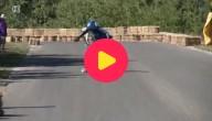 skateboarden in de bergen