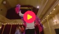 Dimitri zweeft over de dansvloer