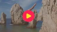 Duiken van een superhoge rots