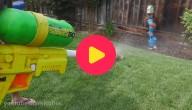 Gigantisch waterpistool