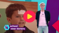 Een tienerschool in Anderlecht