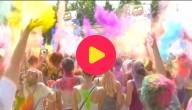 Een superleuk kleurenfestival