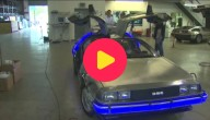 Auto uit Back To The Future