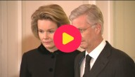Koning Filip en koningin Mathilde