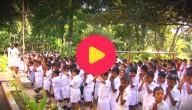 Schooldag in Sri Lanka