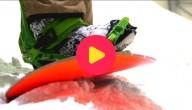 Slopestyle snowboarden