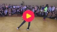 dansen met 1 arm