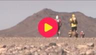 lopen in de woestijn