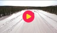 Rallyrijden in de sneeuw