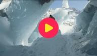 Skiën op een gletsjer