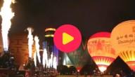 Luchtballonnen in China