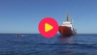 migrantenschip kan niet aanmeren