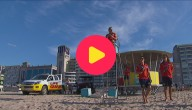 redders op het strand