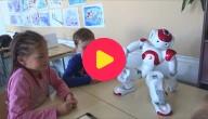 robots op school
