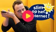 Sander deelt zijn gsm-nummer op het internet