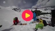 Deze waaghalzen mochten als eerste op Karakoram bergketen skiën