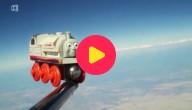 treintje in de ruimte
