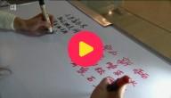 schrijven met twee handen