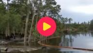 Verdwijngat in Louisiana