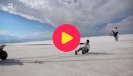 snowboarden op zout