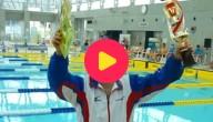 100-jarige zwemster