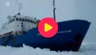 Schip in Antarctica