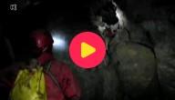 Wetenschappers in de grot