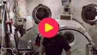 Astronaut en ruimterobot