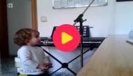 De zingende peuter