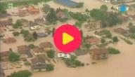Overstromingen in Servië en Bosnië