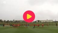 Rode Duivels op training