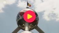 Atomium versierd