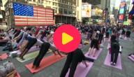 Yoga om de zomer te vieren