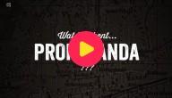 Wat betekent propaganda?