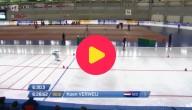 Snelschaatser wint bronzen medaille